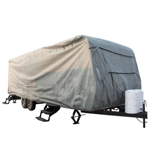 """Leader Accessories Travel Trailer Rv Cover Fits 30'-33' 3 Layer Size 402""""x102""""x104"""""""