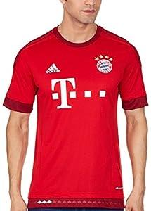 adidas Herren Spieler-Heimtrikot FC Bayern München Replica, FCB True Red/Craft Red F12, M, S14294
