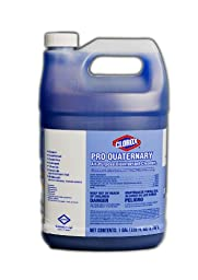 Clorox 30423 Pro Quaternary All Purpose Disinfecting Cleaner, 128 fl oz Bottle