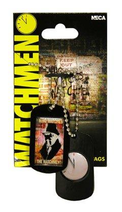 NECA Watchmen Movie Rorschach Pop Art Epoxy Dog Tags