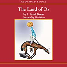 The Land of Oz Audiobook by L. Frank Baum Narrated by Flo Gibson