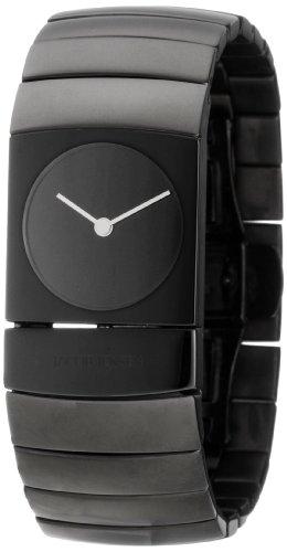 Jacob Jensen 582 - Reloj de pulsera Unisex, Titanio, color Negro