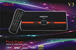 BONUS PACK! NBOX V3 Full HD 1080P Multimedia Digital TV Media player