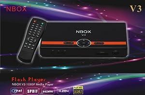 BONUS PACK! NBOX V3 Full HD 1080P Multimedia Digital TV Media player