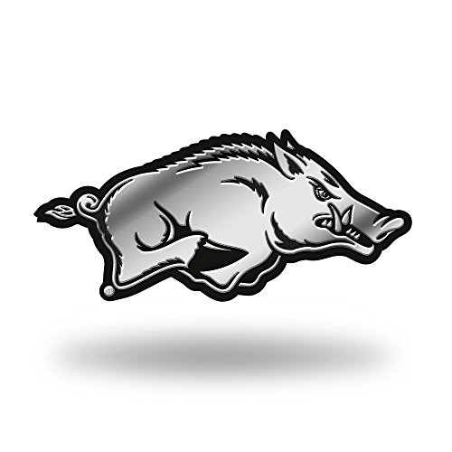 NCAA Arkansas Razorbacks Molded Auto Emblem (Arkansas Decal compare prices)