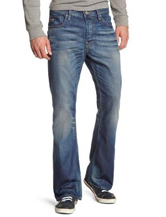 g star jean bootcut homme bleu medium aged 071 fr 29w 30l taille fabricant 29. Black Bedroom Furniture Sets. Home Design Ideas