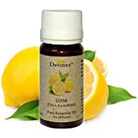 Devinez Lime, Magnolia Essential Oil For Electric Diffusers/ Tealight Diffusers/ Reed Diffusers, 60ml Each