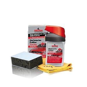 Nigrin 72971 Hard Wax Polish Turbo, 300 ml