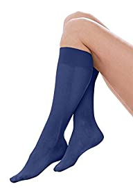 Comfort Choice Women's Plus Size 3-Pack Support Knee-Hi's