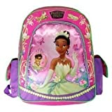 """Disney the Princess Tiana and the Frog 15"""" Large School Backpack"""