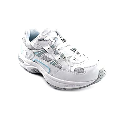 Orthaheel Womens Walker Shoes in White/Blue Size 5