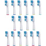 VeniCare 16 Pcs Dual Clean Compatible Electric Replacement Toothbrush Heads SB-417A (4 Packs)- Extra Strong, Extra...