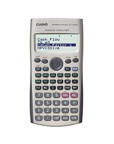 <p>Calcolatrice finanziaria, calcolo interesse composto, ammortamento di un prestito. Dimensioni LxPxH: 80x161x14 mm. Peso:</p>