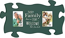 P. Graham Dunn Welcome To Ours Puzzle Photo Frame PUF0206 22 x 13 by P Graham Dunn
