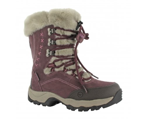 Hi-Tec St Moritz 200 Women's Waterproof Walking Boots - 7 - Purple