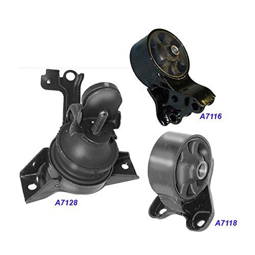 Engine Motor /& Trans Mount Set 4PCS for 2007-2010 Hyundai Elantra 2.0L for Auto.