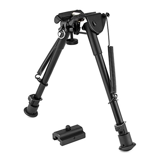 TIYI 9 Inch to 13 Inch Retractable Folding Tactical Rifle Bipod Swivel Solid Sling + Rail Mount Adapter (Ar 7 Quad Rail compare prices)