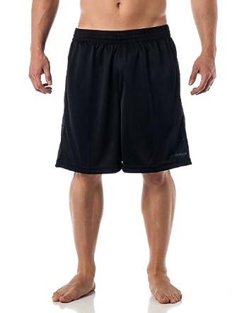 Reebok Men's Performance Gym shorts with pockets - Black S