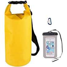 Waterproof Dry Bag With Shoulder Strap Floating Compression Stuff Sacks Gear Backpacks For Boating, Kayaking,...