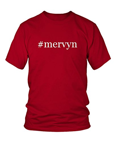mervyn-hashtag-mens-adult-short-sleeve-t-shirt-red-x-large