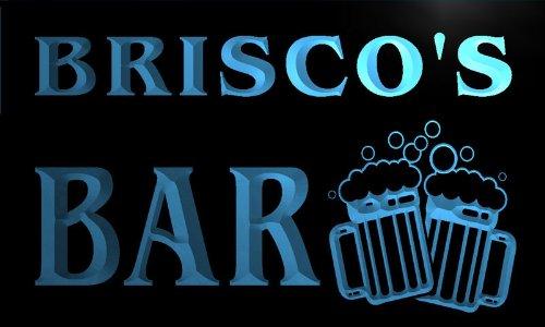 w009819-b-brisco-name-home-bar-pub-beer-mugs-cheers-neon-light-sign