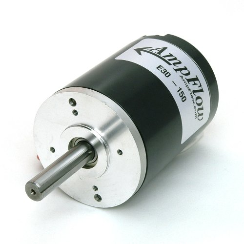 AmpFlow E30-150 Brushed Electric Motor, 12V, 24V or 36 VDC, 5600 rpm (Brushed Electric Motor compare prices)