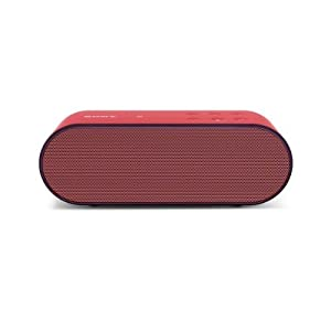 Sony SRS-X2/RED Ultra Portable Bluetooth Speaker - Red