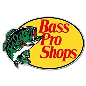 12 bass pro shop logo vinyl decal bumper. Black Bedroom Furniture Sets. Home Design Ideas