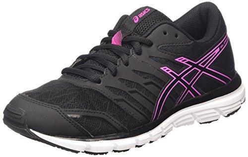 ASICS - Gel-zaraca 4, Zapatillas de Running Mujer, Negro (black/onyx/piink Glow 9099), 40 EU