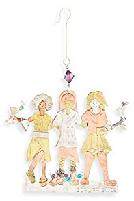 Pilgrim Imports Girl's Night Out Fair Trade Ornament