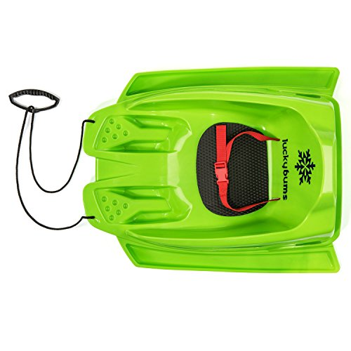 lucky-bums-toddler-pull-sled-green