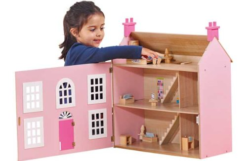 chad-valley-wooden-3-storey-dolls-house-pink