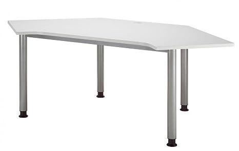 Call Center tavolo grigio/argento