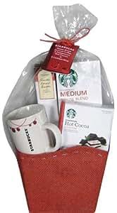 Holiday Hot Beverage Mug Basket