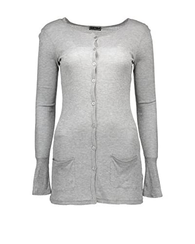 Fred Perry Chaqueta Punto Gris