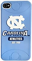 Buy Forever Collectibles NCAA North Carolina Tar Heels Team Logo Hard Apple iPhone 4 4S Case by Forever Collectibles