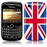 Union Jack Design Shield Case Cover for Blackberry Curve 8520 9300