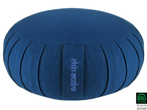 Zafu Standard 100% coton Bio - Epeautre - Bleu  dd241b1dffd