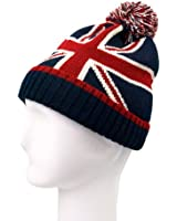 Premium Unisex Warm Knit Union Jack Beanie Hat