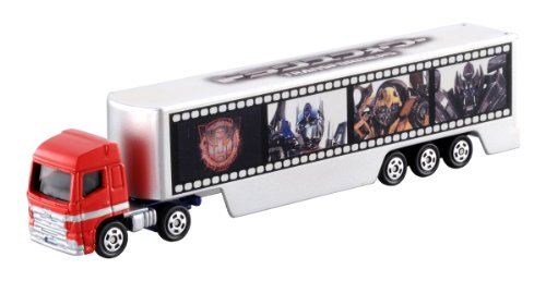 Tomica Optimus Prime with Trailer Wrap Die-Cast Vehicle