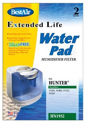 RPS PRODUCTS HN1952 Hunter Wick Replacement Filter (Hunter Humidifier Filters 33222 compare prices)