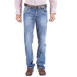 Trigger Men's Regular fit Blue JeansR44L-145S