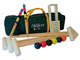 Extreme 6 Player Croquet Set By Oakley Woods Croquet