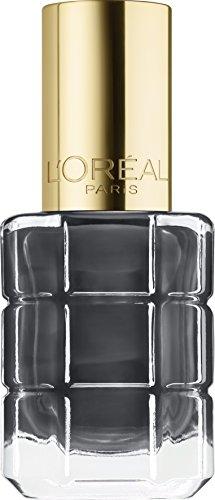 L'Oréal Makeup Designer Paris Color Riche Smalto ad Olio, 672 Noir Oxyde