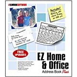 EZ Home and Office Address Book [Windows XP, Vista, 7, 8]