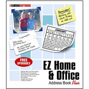 EZ Home and Office Address Book [Windows XP, Vista, 7, 8]