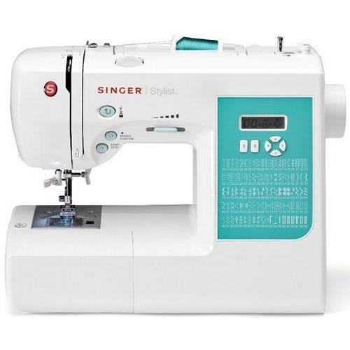 Singer 7258.Cl Stylist Electric Sewing Machine, 100 Built-In Stitches, White