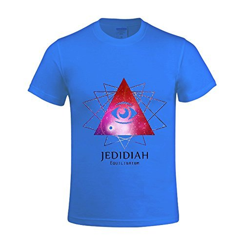 MeyeeNadigt Equilibrium - EP Jedidiah Men T Shirts Crew Neck World Tour 2016