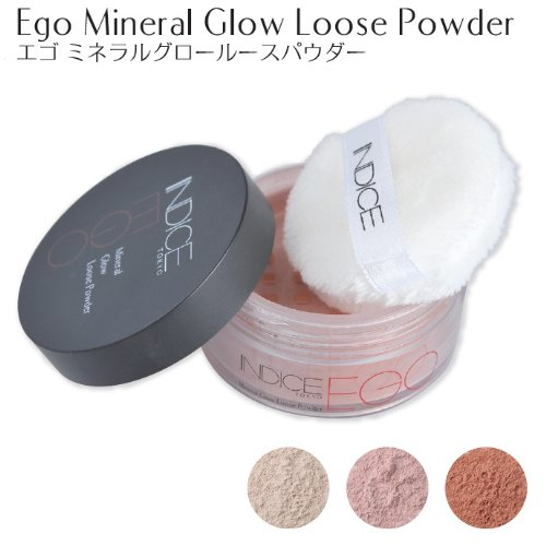 Indice Makeup エゴ ミネラルグロー ルースパウダーEgo Mineral Glow Loose Powder
