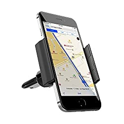 Satechi Universal Smartphone Vent Slot Mount for 4' - 6' Smartphones for iPhone 5S, 5C, 5, 4S, 4, Samsung Galaxy...